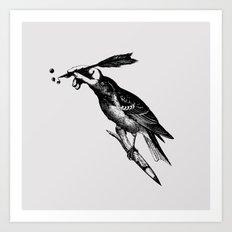 The Experimetal Artist Art Print