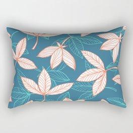 Drifting Down The River Rectangular Pillow