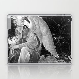 A Very Old Man with Enormous Wings Laptop & iPad Skin