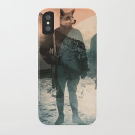 Fox Hunt iPhone Case