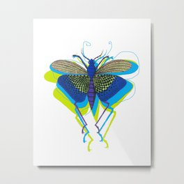 Cool Insect Metal Print
