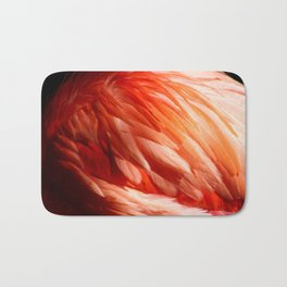 Flamingo Feathers Bath Mat