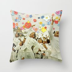 We Are Home Throw Pillow