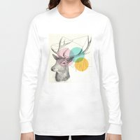 stitch Long Sleeve T-shirts featuring stitch doe by Vin Zzep