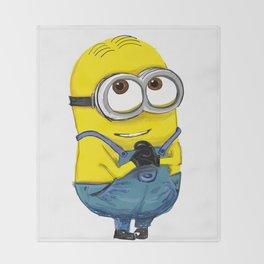 minion Throw Blanket