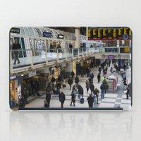 liverpool iPad Cases featuring Liverpool Street Station London by David Pyatt
