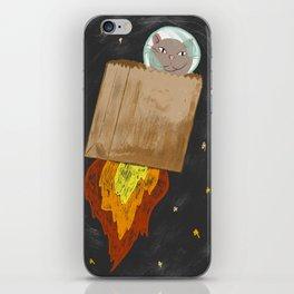 Astro-cat iPhone Skin