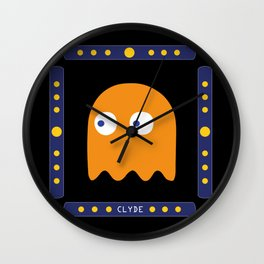 And finally... Clyde! Wall Clock