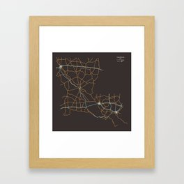 Louisiana Highways Framed Art Print
