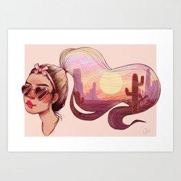 Vibes Art Print