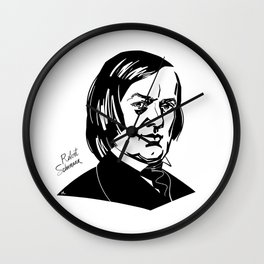 Robert Schumann Wall Clock