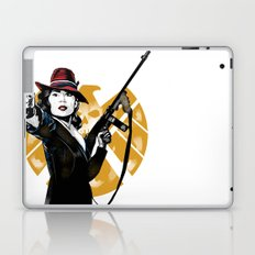Agent Peggy Carter Laptop & iPad Skin