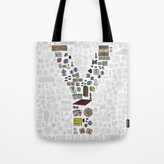letter Y - games Tote Bag