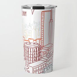A Dinosaur Colony Travel Mug