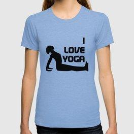 I Love Yoga Gift T-shirt