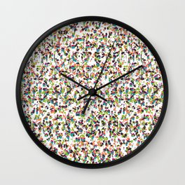 Rice Orchestra Wall Clock