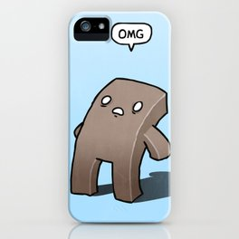 Oh The Humanity iPhone Case