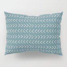 Arrows on Horizon Blue Pillow Sham