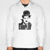 charlie chaplin Hoodies featuring Charlie Chaplin by MarcusEF