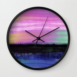 Late Summer Heat Wall Clock