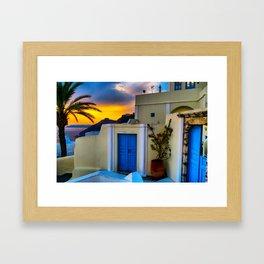 Santorini 27 Framed Art Print