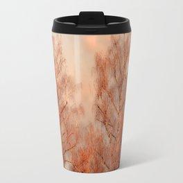 TREES AT SUNSET Travel Mug