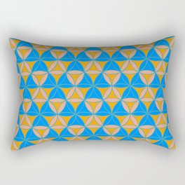 Magic Triad Pattern Rectangular Pillow