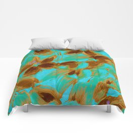 Fashion Textail Floral Print Design, Flower Allover Pattern Comforters
