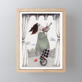 Autumn Concert Framed Mini Art Print