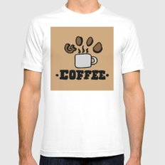 good coffee Mens Fitted Tee MEDIUM White