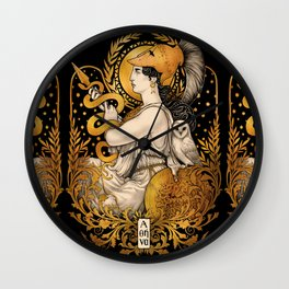 PALLAS ATHENA Wall Clock