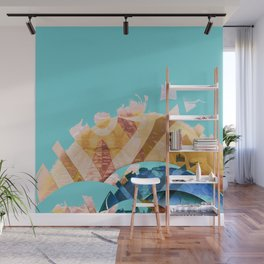 Forces of Peace Abstract Landscape No. 1 Wall Mural