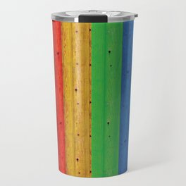 Colours Of The Rainbow Travel Mug