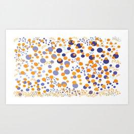 Polks Dot Infusion Art Print