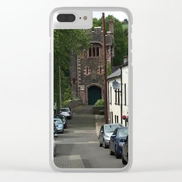 Busy Street Glenarm Ireland Clear iPhone Case