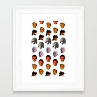 blade runner Framed Art Prints featuring BLADE RUNNER by brucetimms