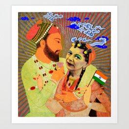 Hilda My Queen Art Print