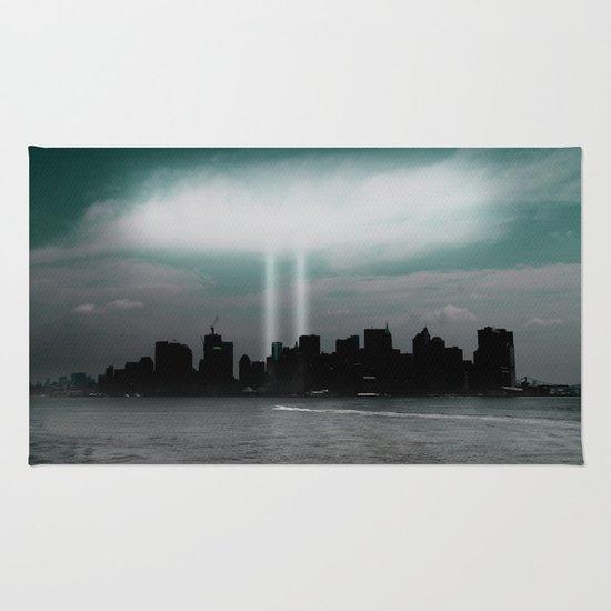 Renewal - New York City skyline Rug