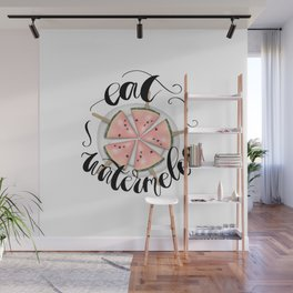 Eat Watermelon Wall Mural
