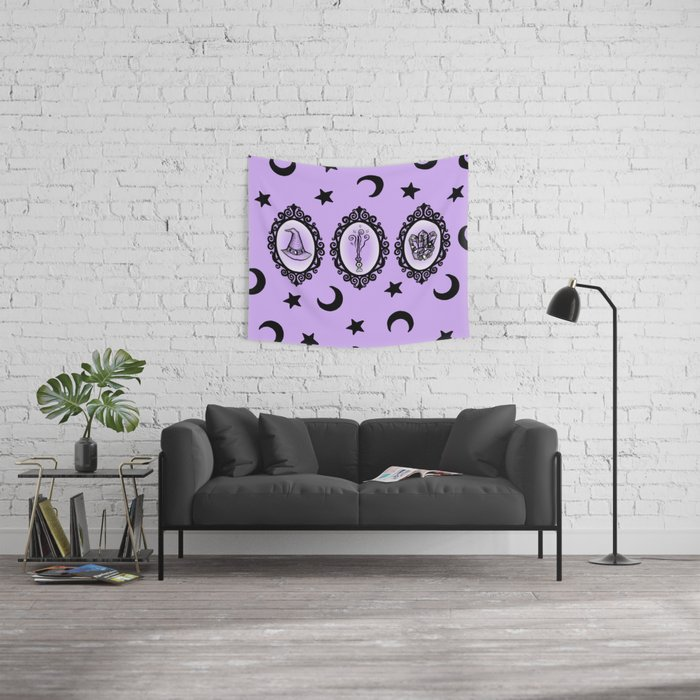 Witch Essentials Wall Tapestry