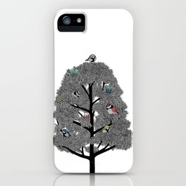 Birds nest iPhone Case