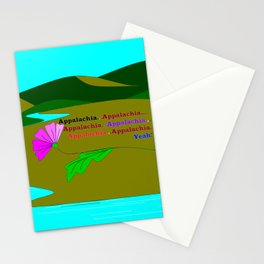 My Colorful and True Ode to Beautiful Appalachia! Stationery Cards