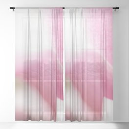 Magnolia zoomed Sheer Curtain
