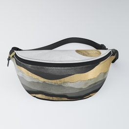 Golden Spring Moon Fanny Pack