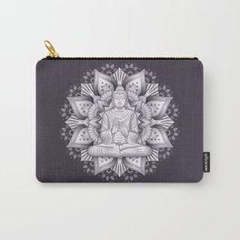 Black Mandala Carry-All Pouch