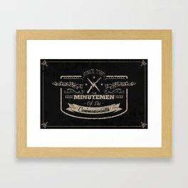 Minutemen of the Commonwealth Framed Art Print