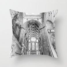 York Minster Art Throw Pillow