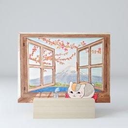 Nyanko-sensei (Natsume Yuujinchou) Mini Art Print