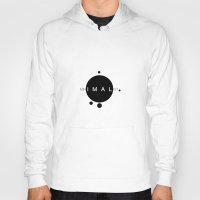 minimalist Hoodies featuring MINIMALIST by momos