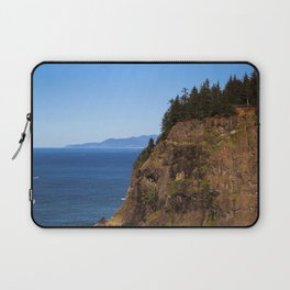 Where the Trees Meet the Sea Laptop Sleeve